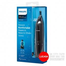Máy Tỉa Lông Mũi Philips NT1650/16 - Pin AA
