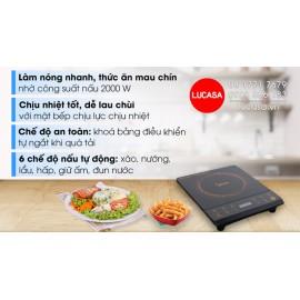 Bếp Hồng Ngoại Đơn Midea MIR-B2018DG