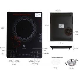 Bếp Từ Electrolux ETD42SKR - 2100W