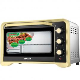 Lò nướng Sanaky VH-309N2D - 1600W 30L Vỏ Inox