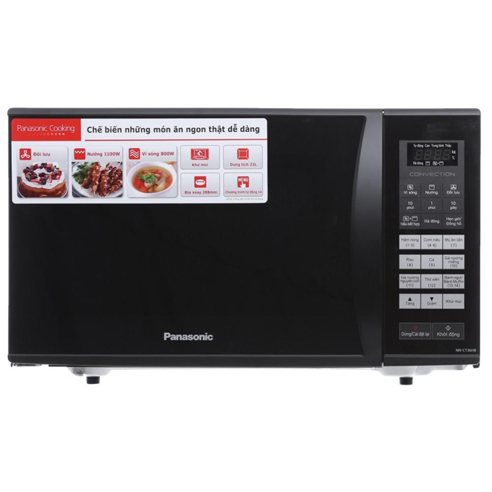 Lò Vi Sóng Panasonic PALM-NN-CT36HBYUE - 800W 23L - Có Nướng