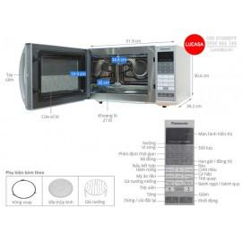 Lò Vi Sóng Panasonic PALM-NN-CT655MYUE- 1450W 27L - Có Nướng