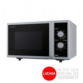 Lò Vi Sóng Sharp R-G372VN-S - 800W 23L Có Nướng