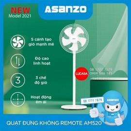 Quạt Đứng Asanzo AM520 - Không Remote - Trợ Giá COVID-19