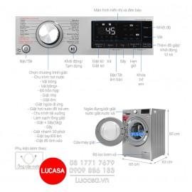 Máy Giặt LG FV1409G4V - 9Kg