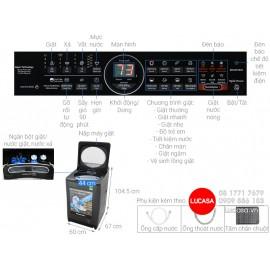 Máy Giặt Panasonic NA-FD10VR1BV - 10.5Kg