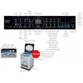 Máy Giặt Panasonic NA-FD11XR1LV - 11.5Kg
