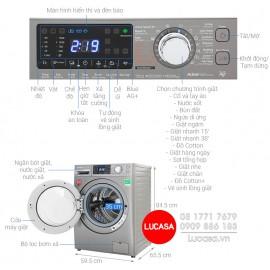 Máy Giặt Panasonic NA-V90FX1LVT - 9Kg