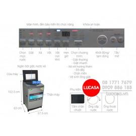 Máy Giặt Toshiba AW-UH1150GVDS - 10.5Kg