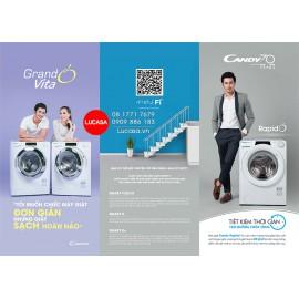Máy giặt Candy RO 1284DWH7\1-S - 8Kg Wifi Bluetooth