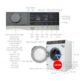 Máy Giặt Electrolux EWF1142BEWA - 11Kg