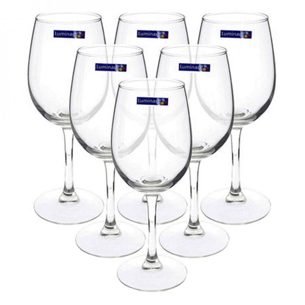 Bộ 6 Ly Rượu Vang Thủy Tinh Luminarc Savoie 11908 - 190ml