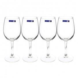 Bộ 4 Ly Rượu Vang Thủy Tinh Luminarc World Wine E5980 - 470ml