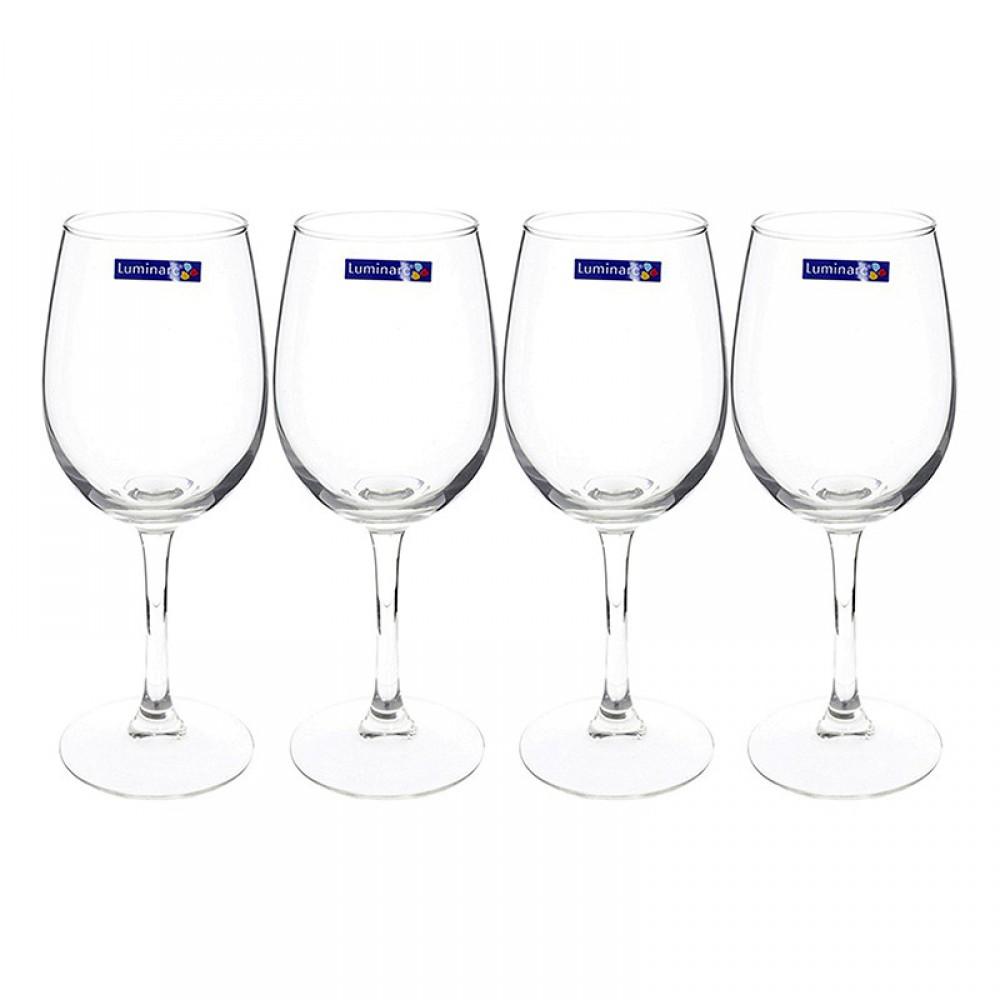 Bộ 4 Ly Rượu Vang Thủy Tinh Luminarc World Wine E5981 - 580ml