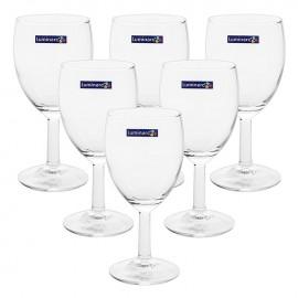 Bộ 6 Ly Rượu Vang Thủy Tinh Luminarc Senso G3805 - 350ml