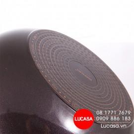 Chảo Sâu Chống Dính Đáy Từ Happycall Diamond Lite - 24Cm