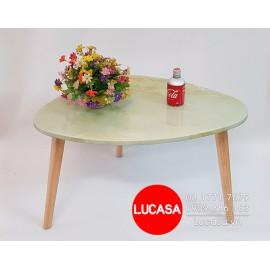 Bàn Sofa Chiếc Lá Giả Đá BSOFA-L118  - XẢ KHO ÂM VỐN
