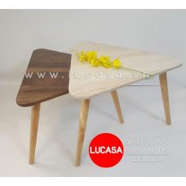 Combo Bàn Sofa Tam Giác Mặt Giả Đá BSOFA-L120