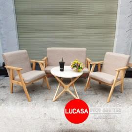 Bộ Bàn Café CFTS-L340 - 1 Bàn 2 Ghế Băng 1 - 1 Ghế Băng 3