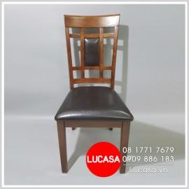 Ghế Bàn Ăn Gỗ Cao Su GBA-L028