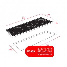 Bếp Từ Teka IZ 8320 HS - 80cm - 7400W Thổ Nhĩ Kỳ