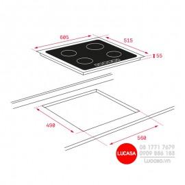 Bếp Từ Teka IT 6350 iKNOB - 60cm Thổ Nhĩ Kỳ