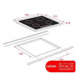 Bếp Điện Từ Teka ITF 6320 - 60cm Thổ Nhĩ Kỳ