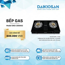 Bếp Gas Daikiosan DKG-200002 - 69cm Việt Nam