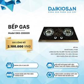 Bếp Gas Âm Daikiosan DKG-200009 - 71cm Việt Nam
