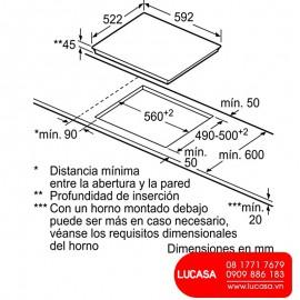 Bếp Từ Bosch HMH.PID631BB1E - 60cm Tây Ban Nha