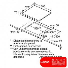 Bếp Từ Bosch HMH.PXE675DC1E - 60cm Tây Ban Nha