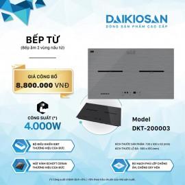 Bếp Từ Daikiosan DKT-200003 - 73cm