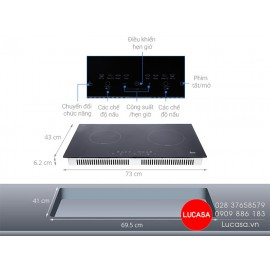 Bếp Từ Teka IB 702 - 73cm - 4000W
