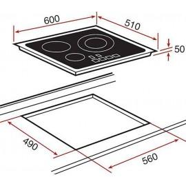 Bếp Từ Teka IR 6320 - 60cm - 7400W SX Thổ Nhĩ Kỳ