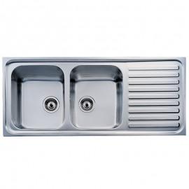 Chậu rửa chén TEKA CLASSIC 1160.500 2B.1D (2C.1E)
