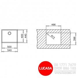 Chậu Rửa Chén TEKA LINEA RS15 50.40 - Thổ Nhĩ Kỳ