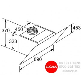 Máy Hút Mùi Bosch DWJ97HM60 - 90cm Đức
