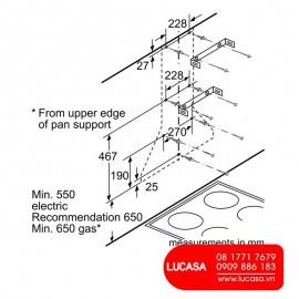 Máy Hút Mùi Bosch HMH.DWW09W851B - 90cm Đức