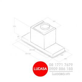 Máy Hút Mùi Elica HIDDEN IX/A/60 (No Filter) - 60cm Italy