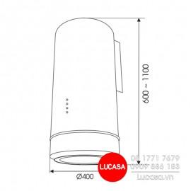 Máy Hút Mùi Gắn Tường Faster FS-8006