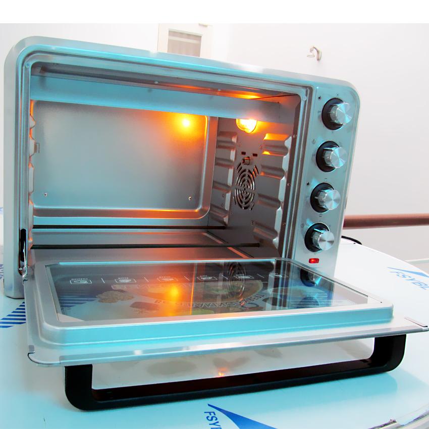 Lò nướng Pensonic PEO-4803G – 48 lít Vỏ Inox   monmientrung.com   Món Miền Trung