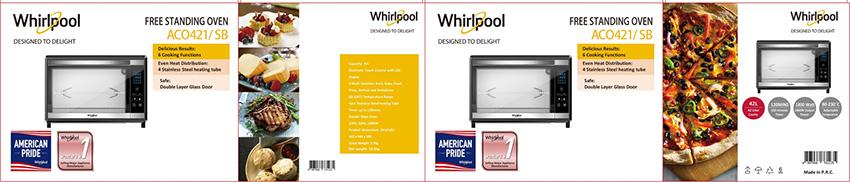 Lò nướng Whirlpool giá rẻ