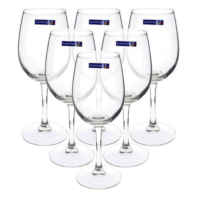 Bộ 6 Ly Rượu Vang Thủy Tinh Luminarc Savoie 11907 - 250ml