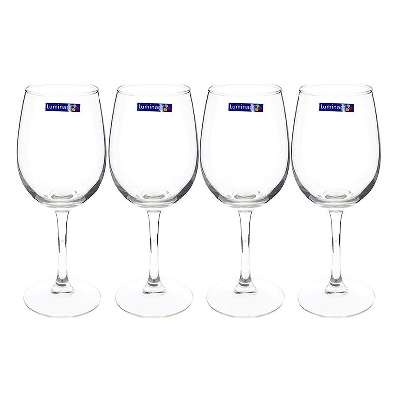 Bộ 4 Ly Rượu Vang Thủy Tinh Luminarc World Wine E5979 - 350ml