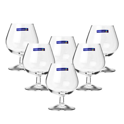 Bộ 6 Ly Rượu Thủy Tinh Luminarc Cognac G2629 - 130ml