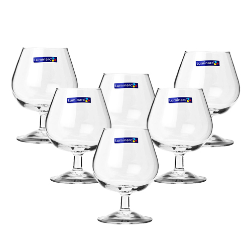Bộ 6 Ly Rượu Thủy Tinh Luminarc Cognac G2630 - 130ml
