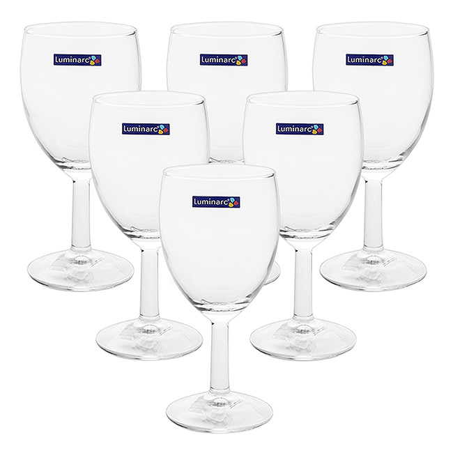 Bộ 6 Ly Rượu Vang Thủy Tinh Luminarc Senso G3808 - 750ml