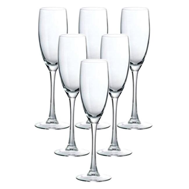 Bộ 6 Ly Rượu Champagne Thủy Tinh Luminarc Senso G3809 - 160ml