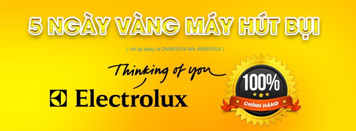 5 ngày vàng máy hút bụi electrolux tại Lucasa Việt Nam